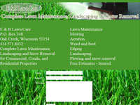 E & B Lawncare